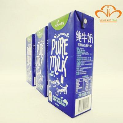 Sữa Tươi Tiệt Trùng Nguyên Kem Binda Valley