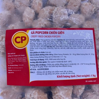 Popcorn gà CP ( Chicken Pop-corn )