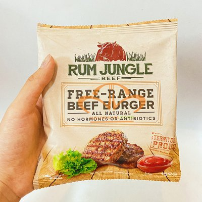Hamburger Bò Úc Rum Jungle 150g