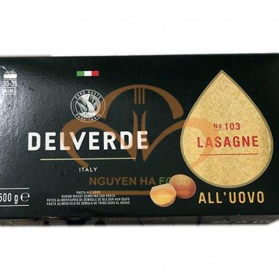 Mì dẹt Delverde - Lasagne