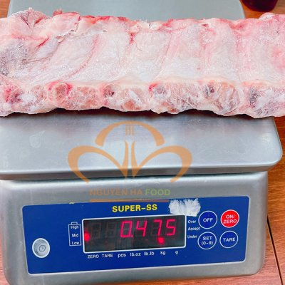 Sườn heo non cắt 8 cm (Pork spare rib)