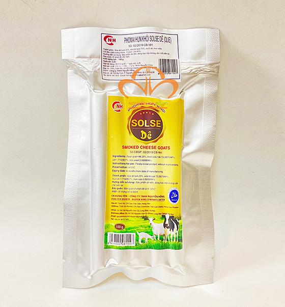 Phô Mai Dê Hun Khói Solse Que – Smoked Cheese Goats 100g