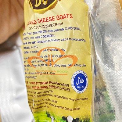 Phô Mai Dê Hun Khói Solse Sợi – Smoked Cheese Goats 100g