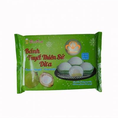 Bánh Mochi Tuyết Thiên Sứ Vị Dừa (350g/10 bánh)