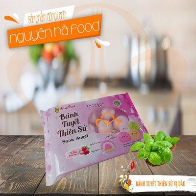 Bánh Mochi Tuyết Thiên Sứ Vị Dâu (350g/10 bánh)