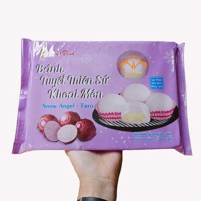 Bánh Mochi Tuyết Thiên Sứ Vị Khoai Môn (350g/10 bánh)