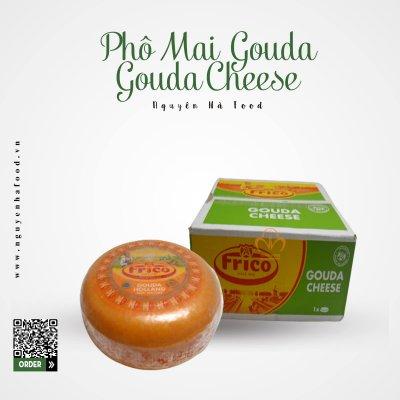 PHÔ MAI GOUDA - GOUDA CHEESE - KHỐI 4,5 KG