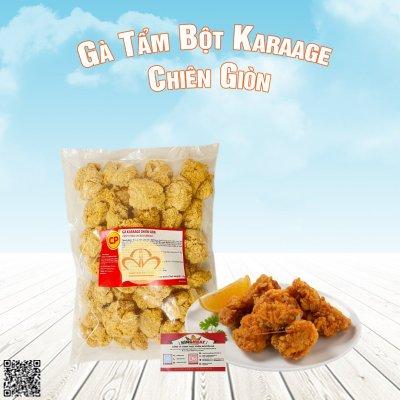 Thịt Gà Tẩm Bột Karaage Chiên Giòn CP - Chicken Karaage