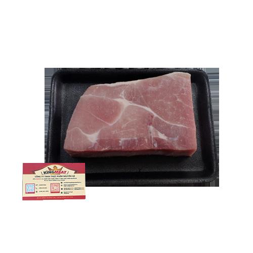 Thịt Nạc Vai Heo Đông Lạnh Nhập Khẩu Khay