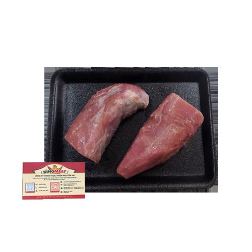 Thịt Fillet Thăn Nội Heo - Pork Fillet Đông Lạnh Nhập Khẩu Khay