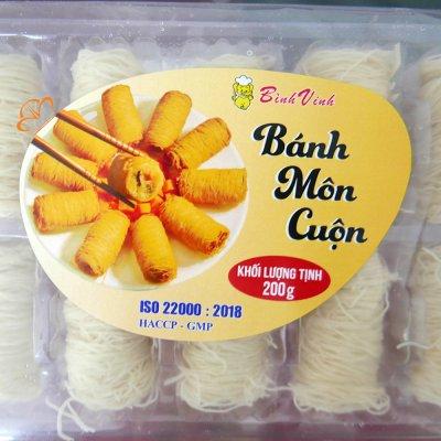 Bánh Môn Cuộn Đông Lạnh Gói
