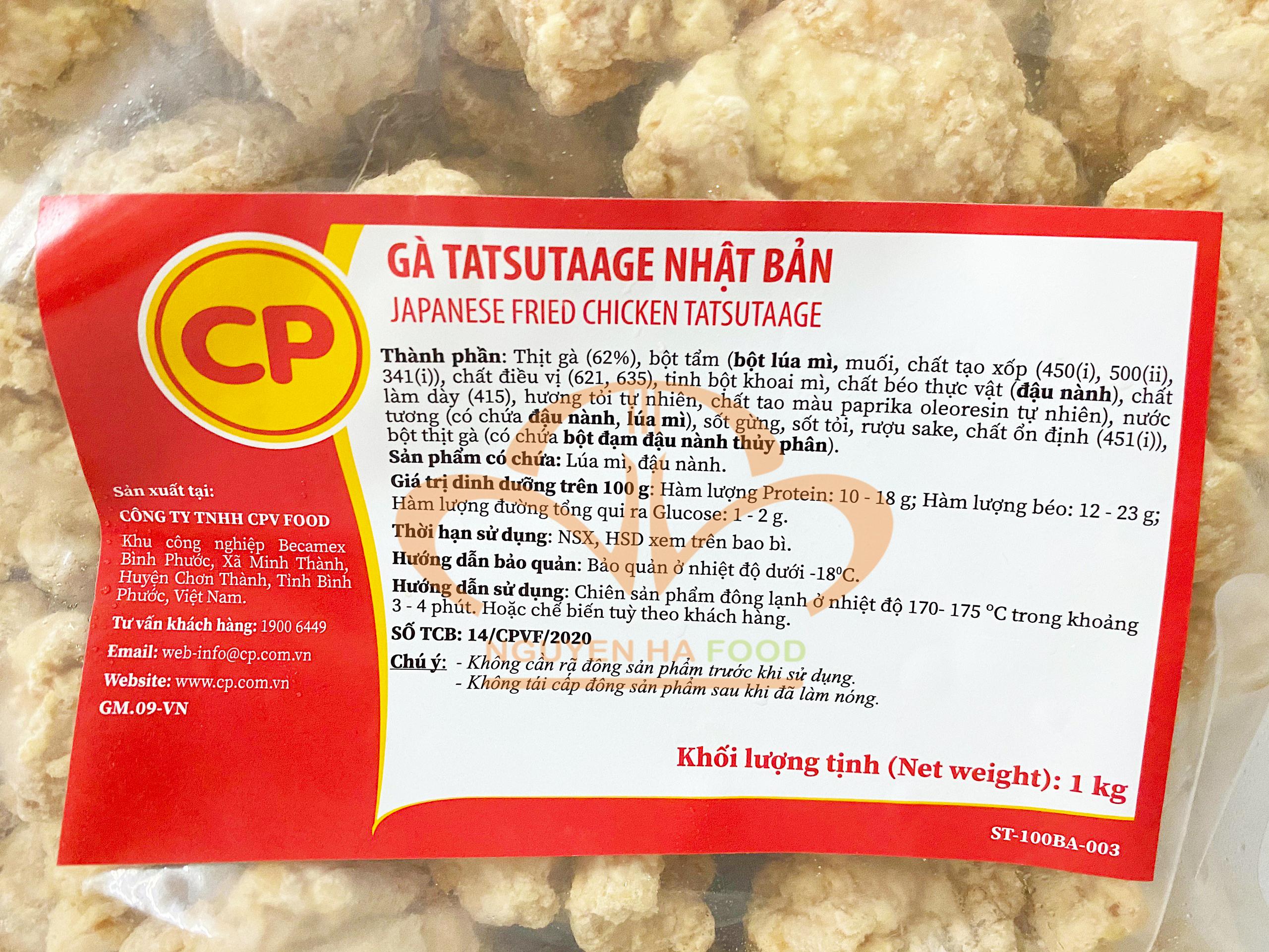 GA TATSUTAAGE NHAT BAN - JAPANESE FRIED CHICKEN TATSUTAAGE - NGUYEN HA FOOD - GA CHE BIEN SAN CP (3)