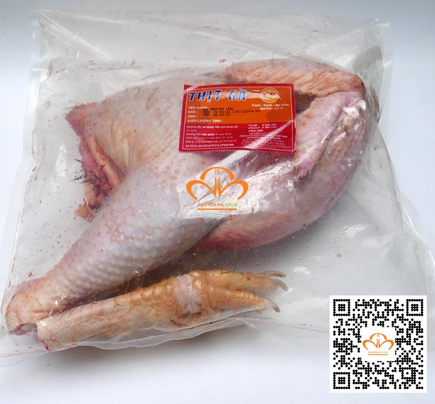 Thịt gà trống tươi Cp nguyên con