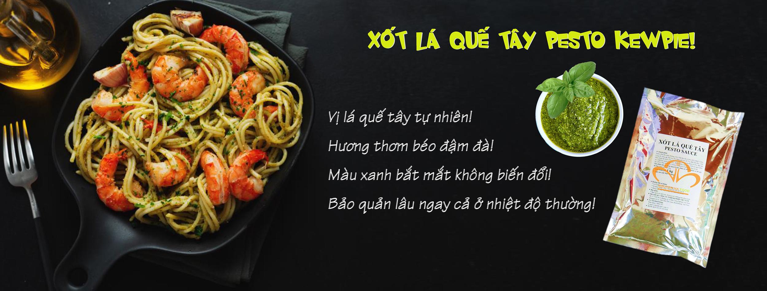 XOT PESTO LA QUE TAY KEWPIE - NGUYEN HA FOOD
