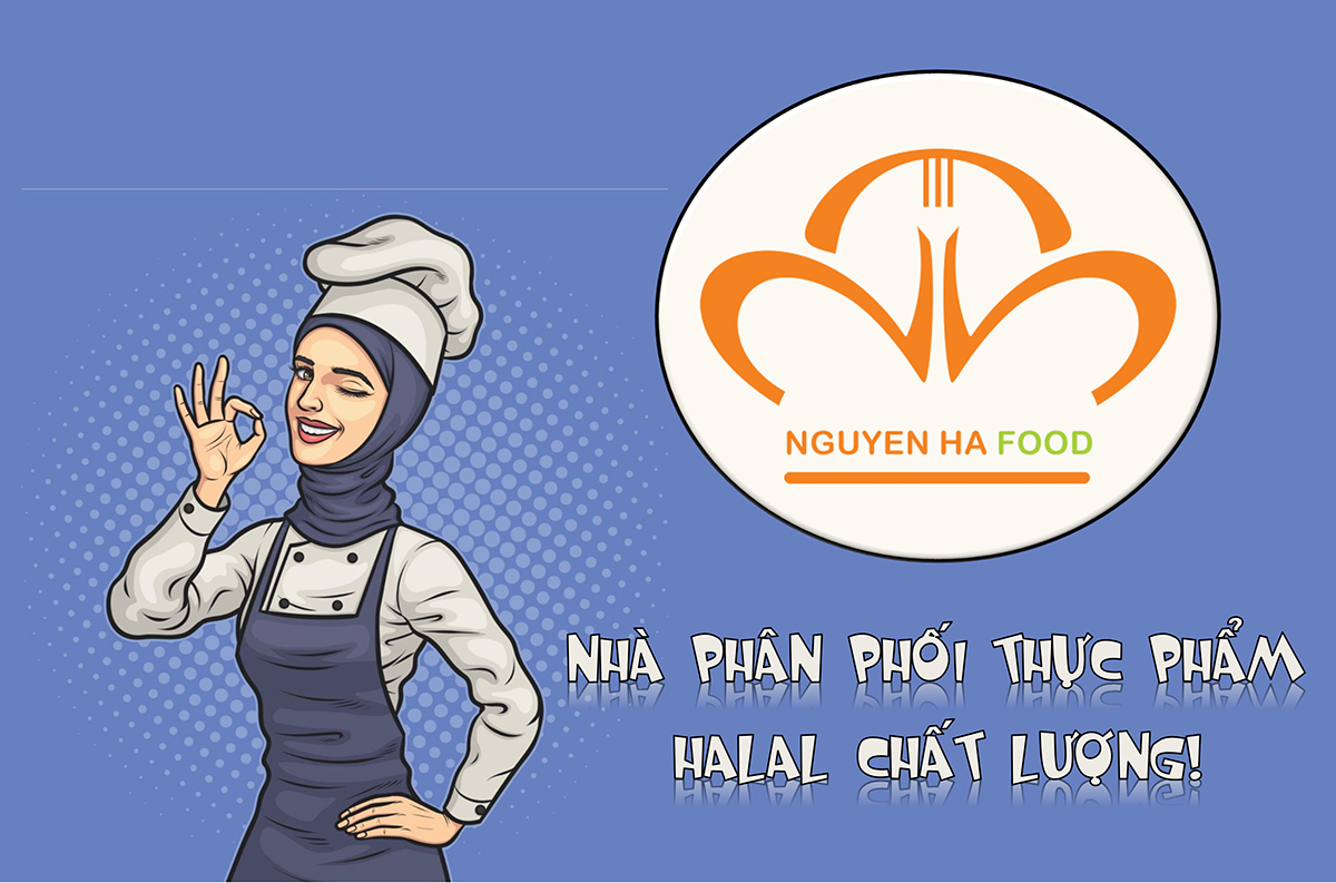 NHA PHAN PHOI THUC PHAM HALAL - HALAL FOOD DISTRIBUTORS - NGUYEN HA FOOD