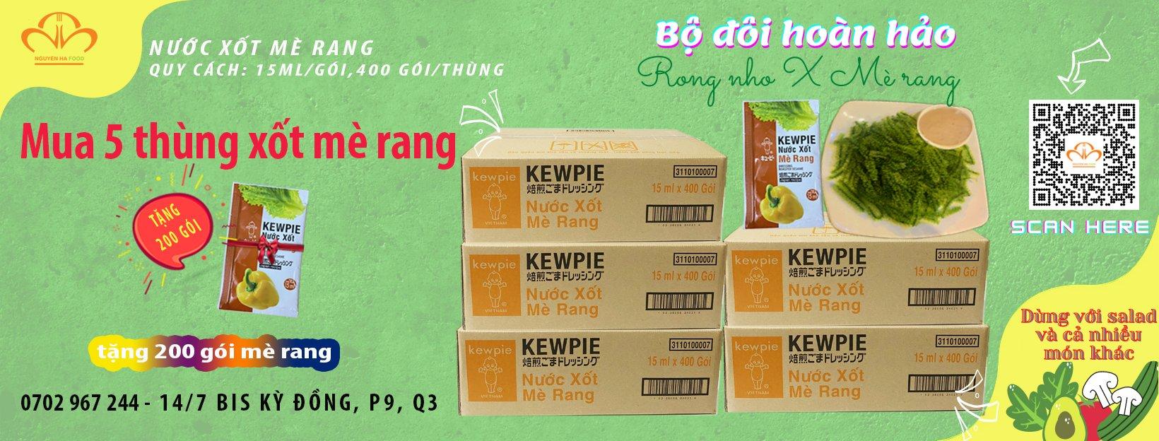 banner ctkm xot me rang kewpie 15ml nguyen ha food