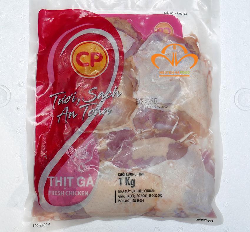 Đùi gà rút xương CP gói 1kg