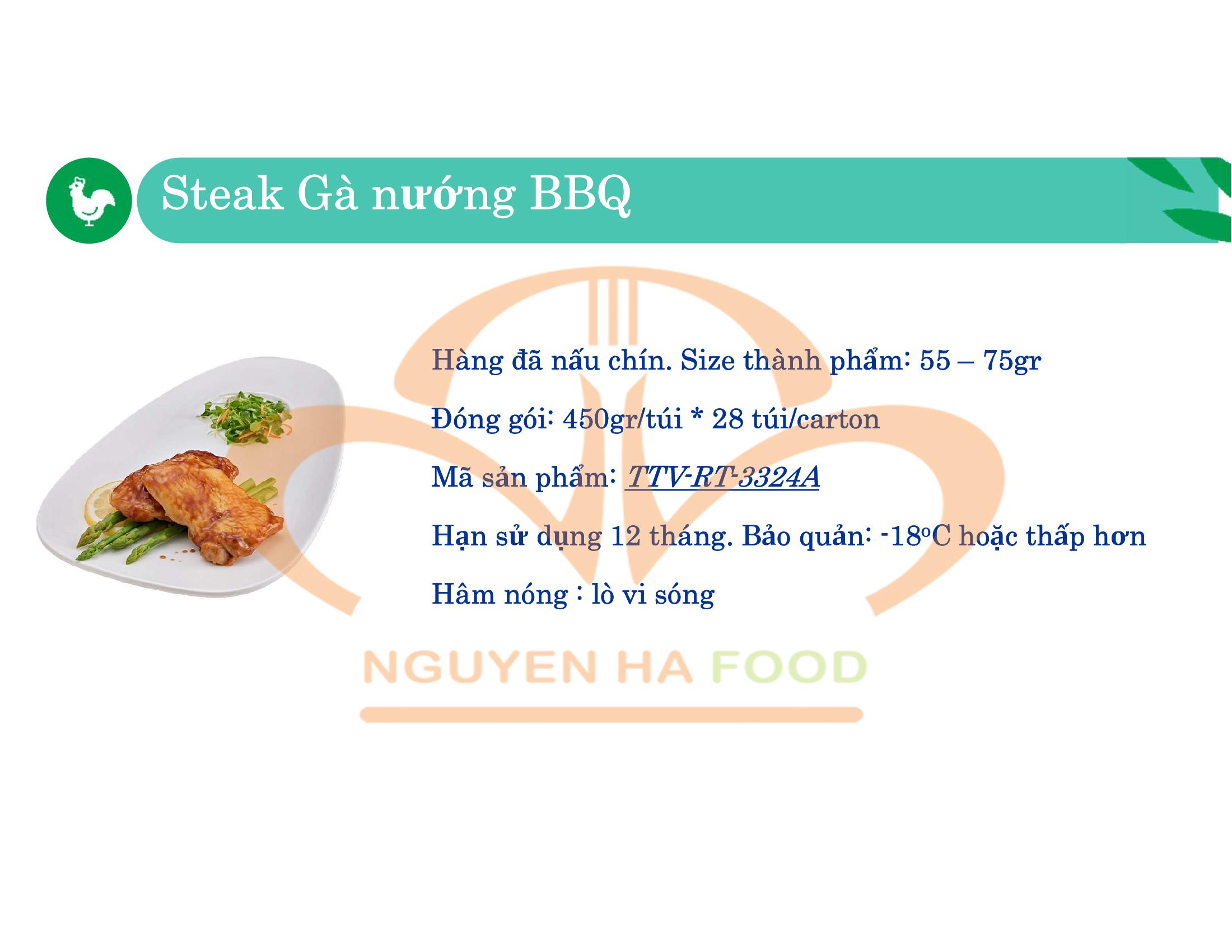 01 STEAK GA NUONG BBQ CP NGUYEN HA FOOD