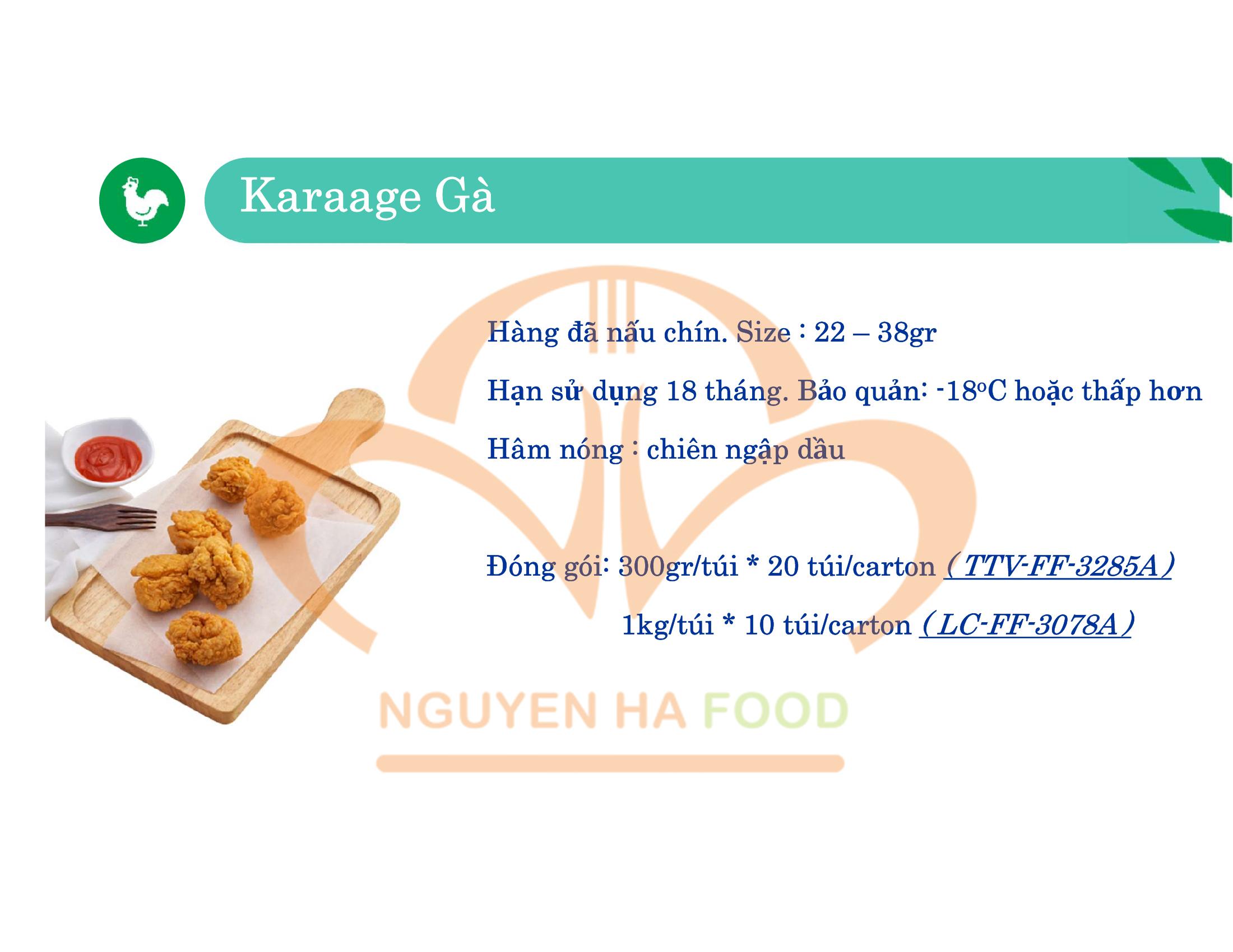02 GA KARAAGE CP NGUYEN HA FOOD