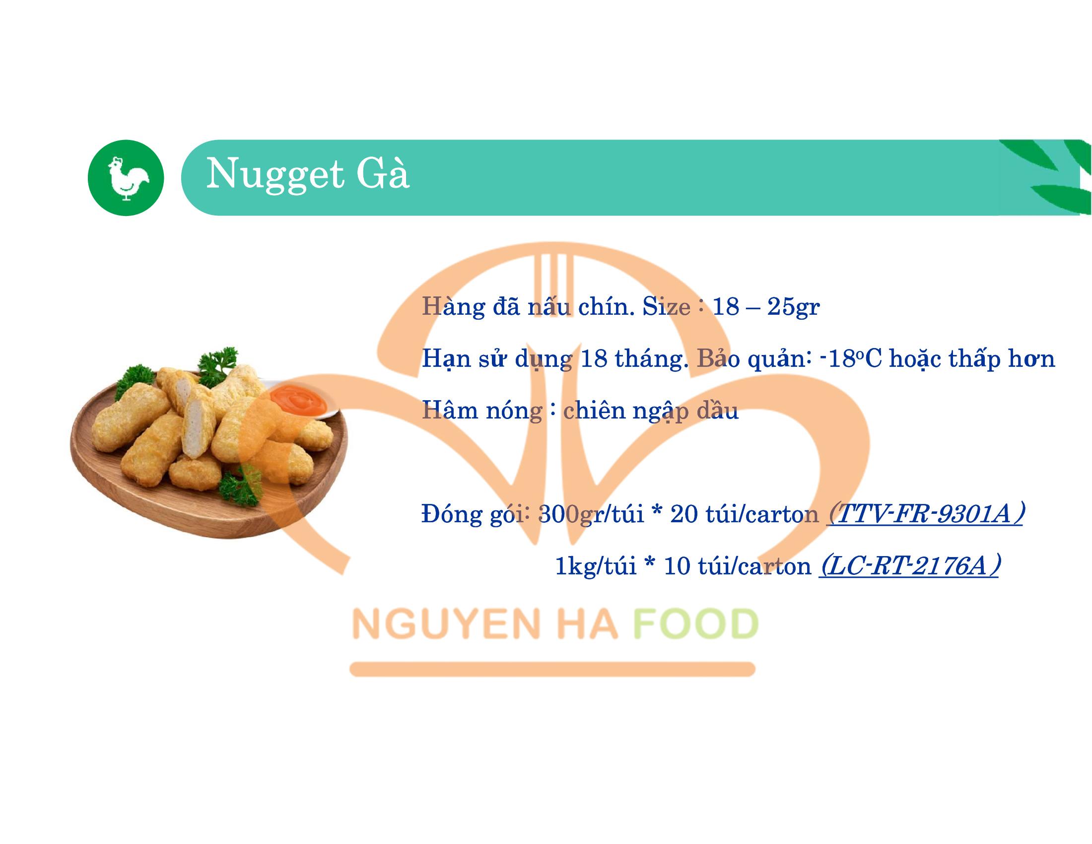 07 GA NUGGET CP NGUYEN HA FOOD