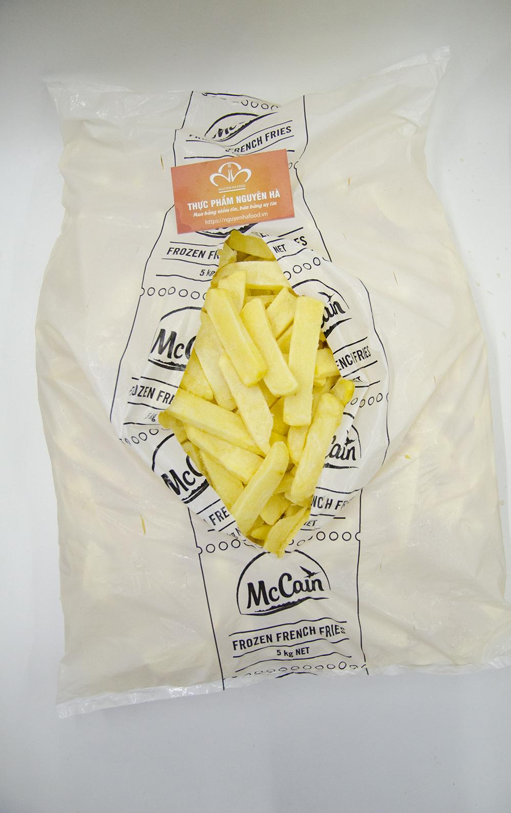 Khoai tây ¾ Steak House Mc Cain (5kg/bao)