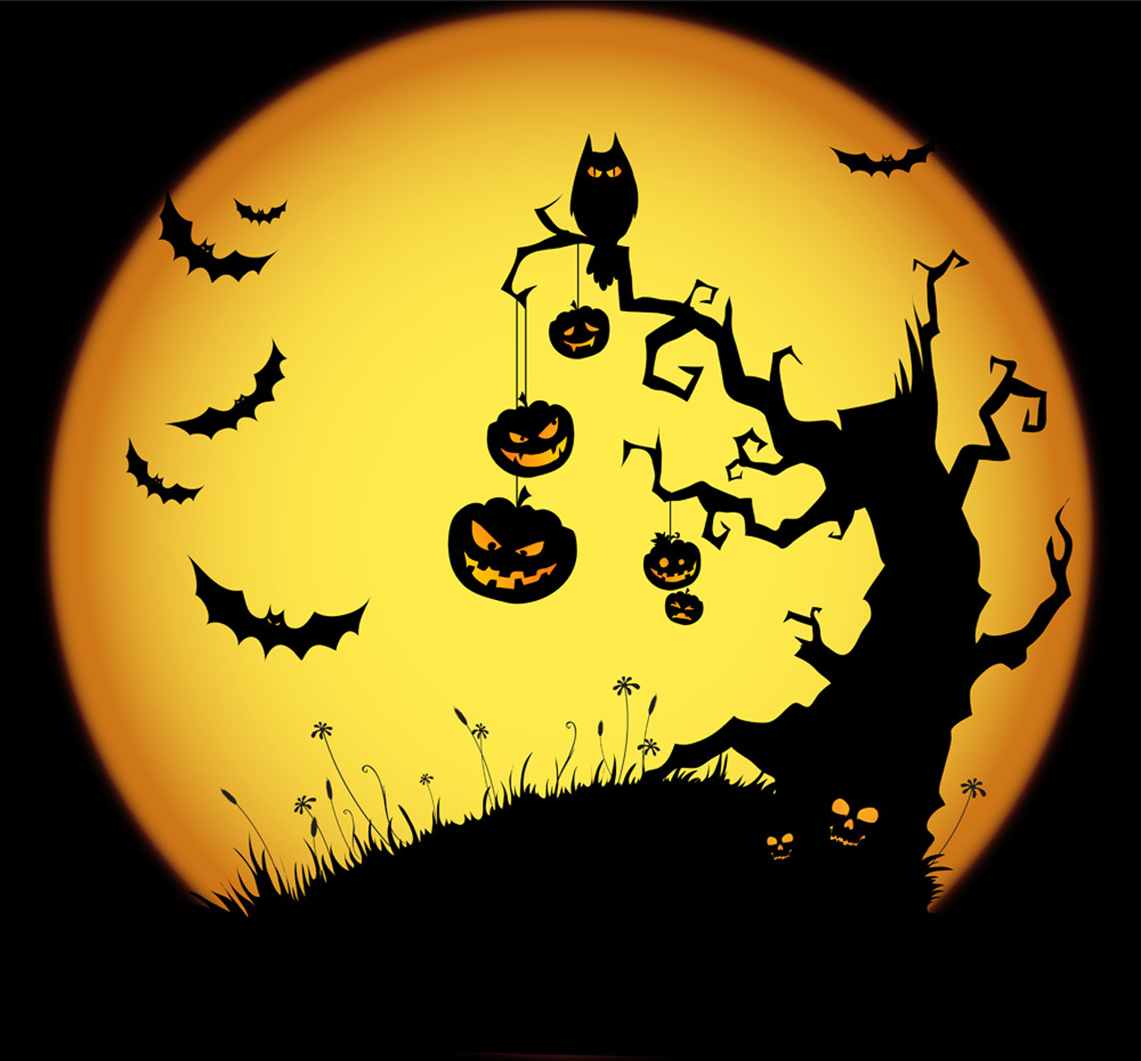 Halloween-Theme-Wallpaper