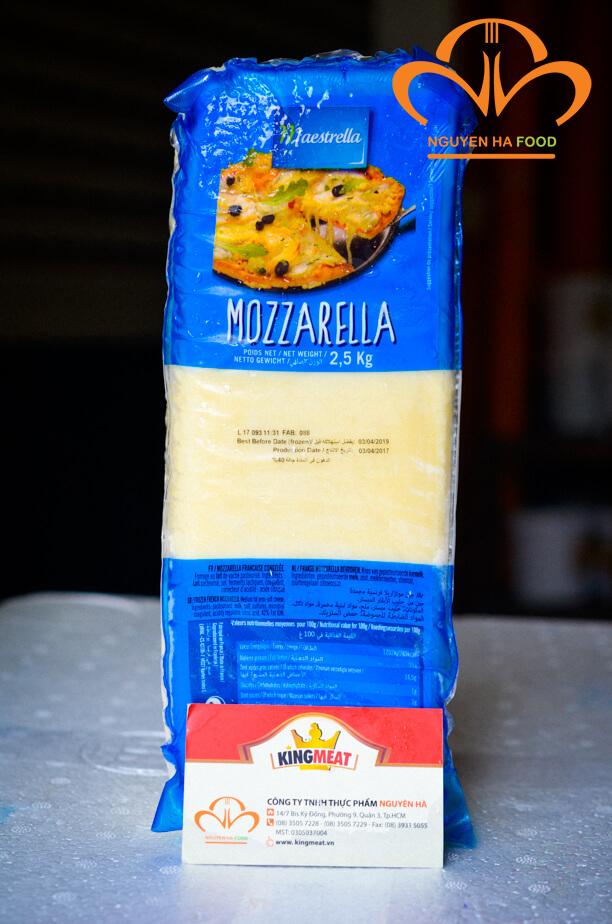 phô mai mozzarella giá rẻ tại nguyen ha