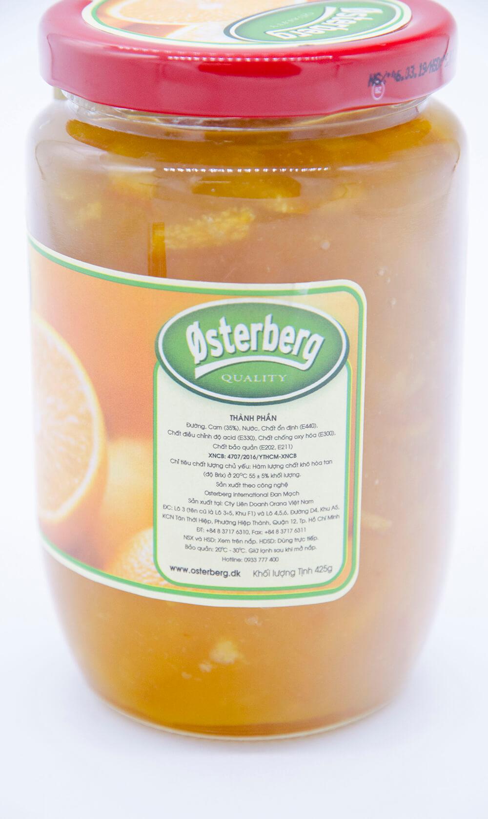 hủ mứt cam osterberg 425g