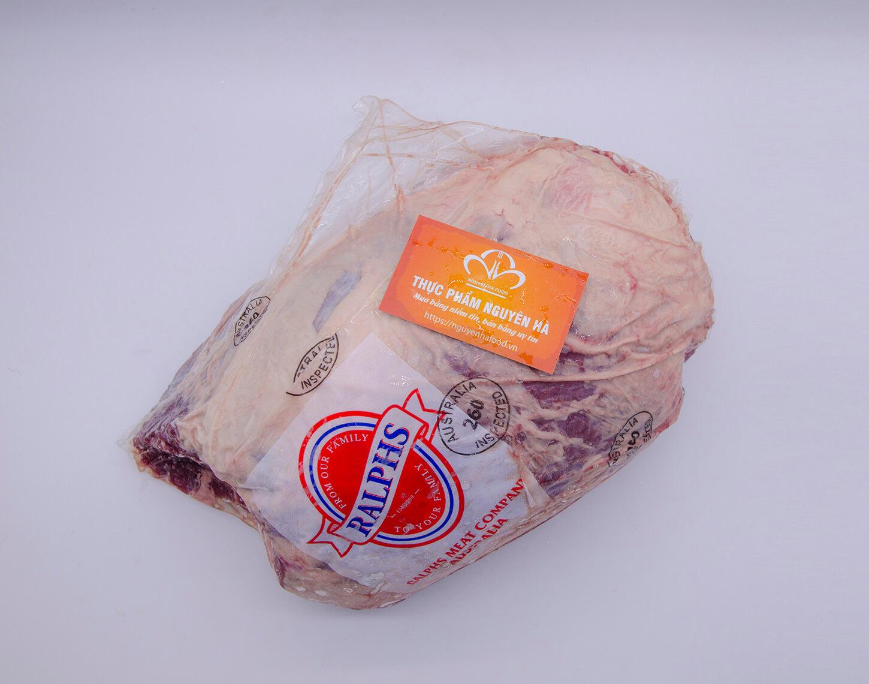 nạc đùi gọ bò úc đông lạnh cao cấp prime steer beef