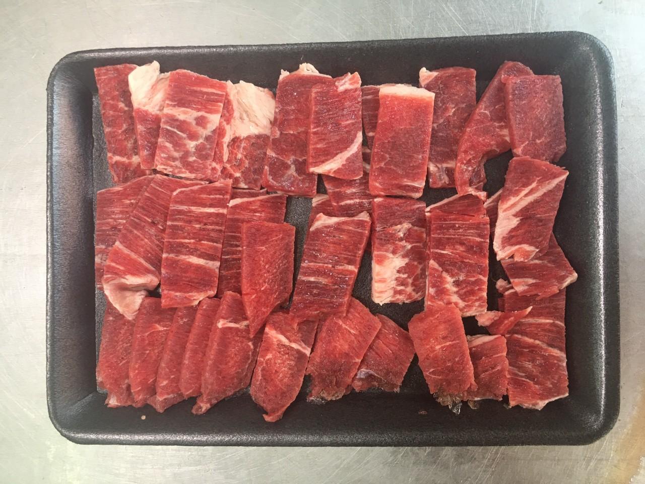 Thịt đùi gọ bò Úc thái mỏng