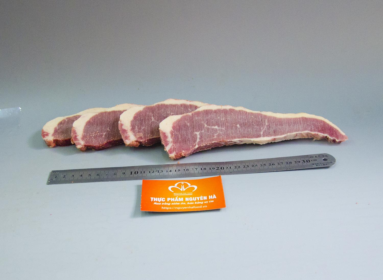 Thịt gầu bò Úc đông lạnh  cắt lát
