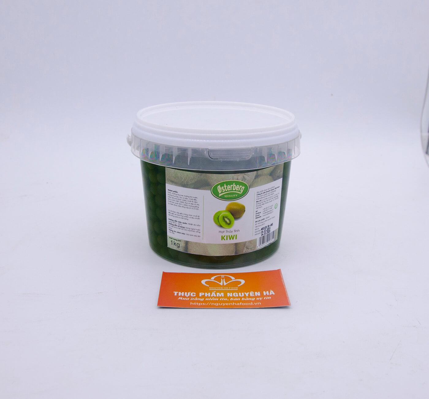 Hạt thủy tinh kiwi Osterberg