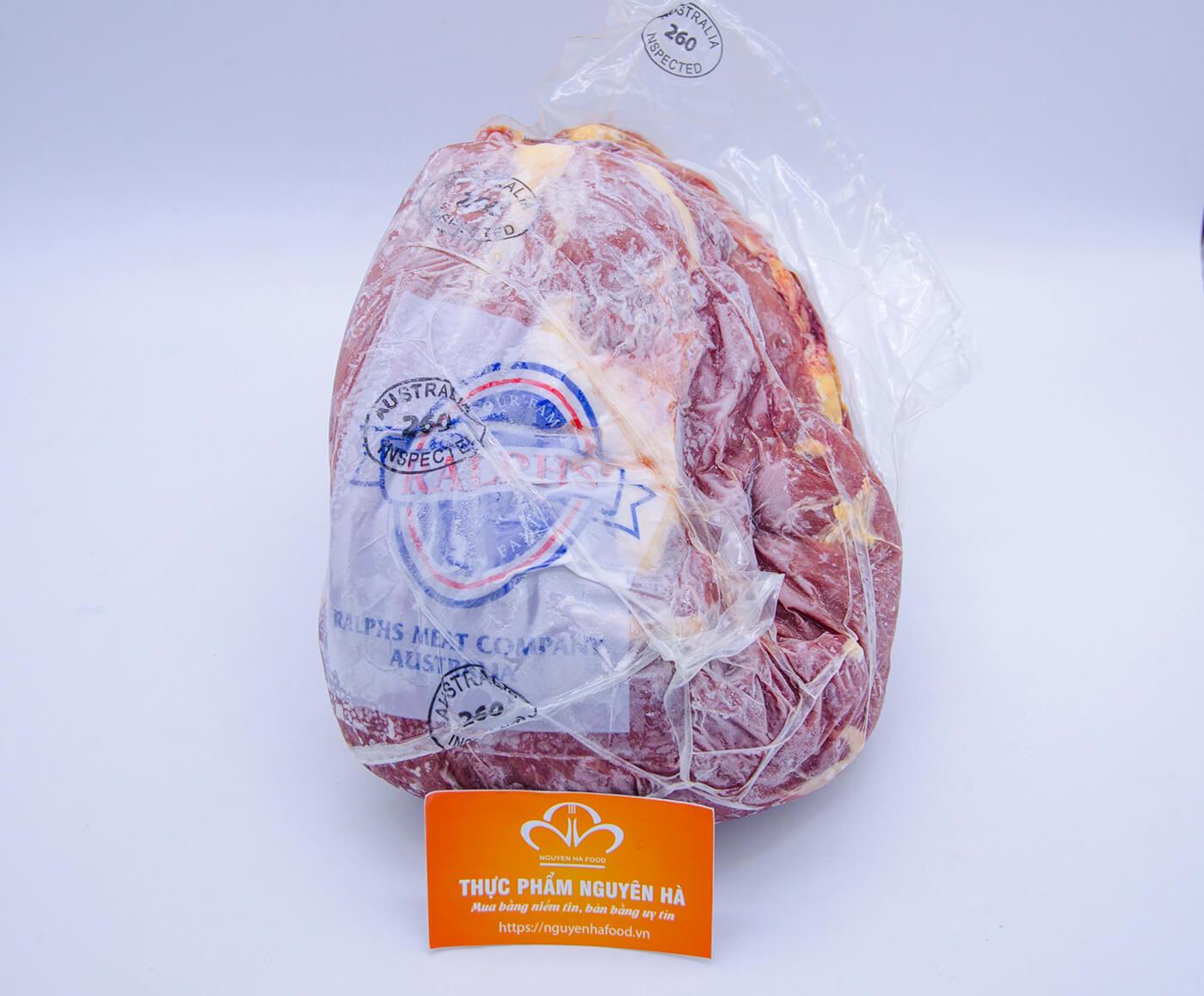 nắp file bò úc đông lạnh cao cấp  prime steer beef