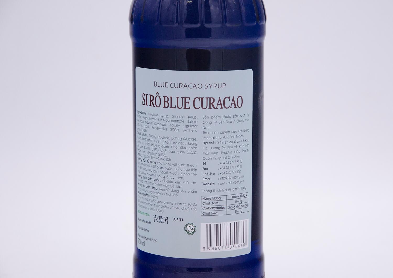 Si rô blue curacao Osterberg – blue curacao syrup