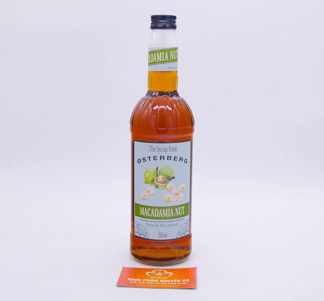 Si rô hạt mắc ca Osterberg – macadamia syrup