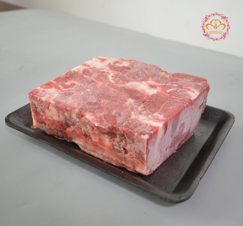 thịt má heo