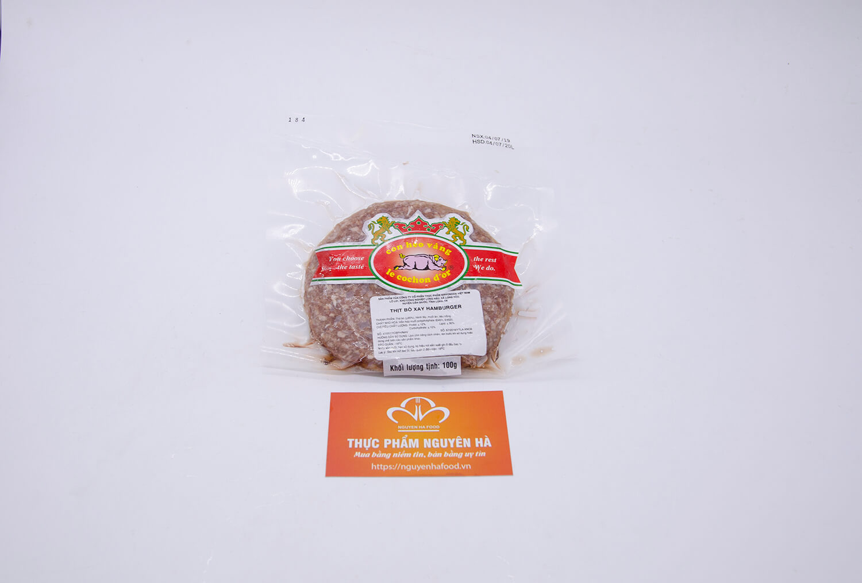 thịt bò xay hamburger